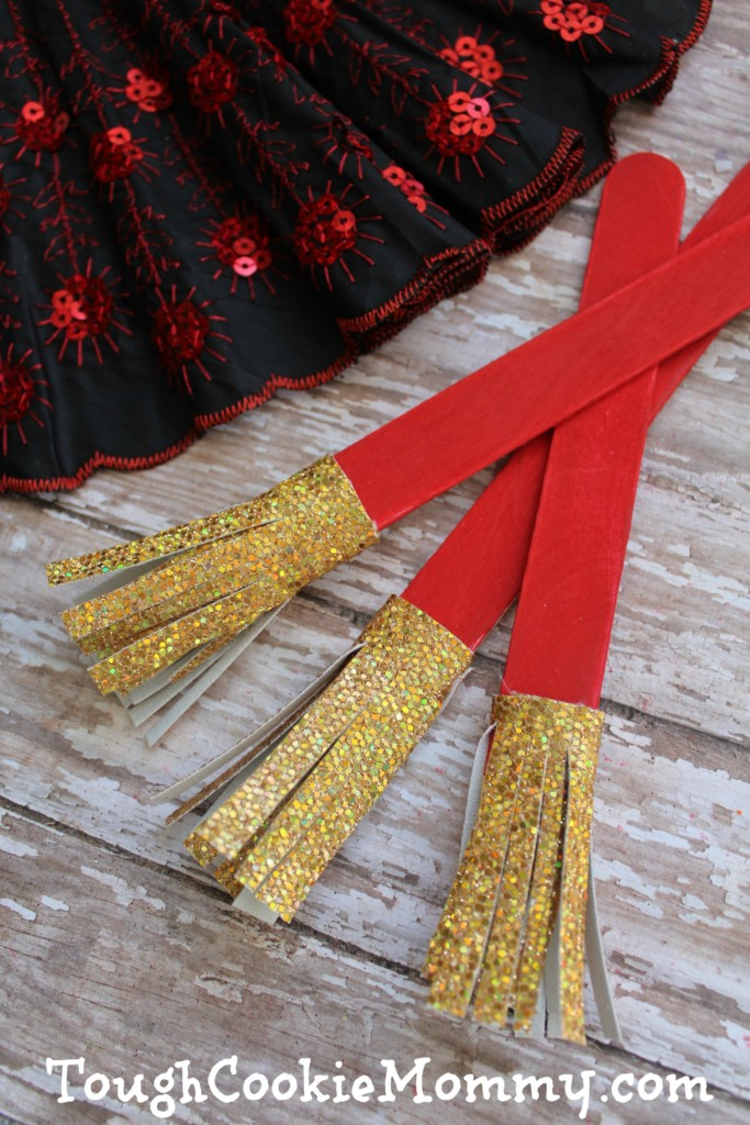 Chinese New Year Broom Craft