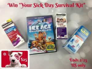 What's Your Sick Day Survival Kit? $25 Gift Card #Giveaway #Ad