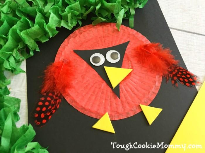 DIY Cardinal Craft