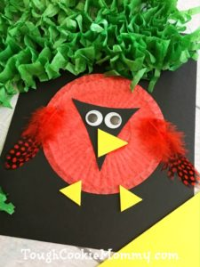 DIY Cardinal Craft