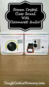 Stream Crystal Clear Sound With Chromecast Audio! @BestBuy @Chromecast  #ad