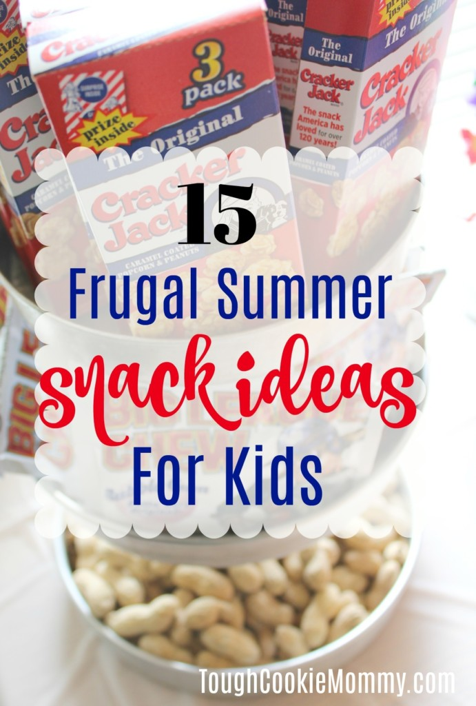 Frugal Summer Snack Ideas For Kids