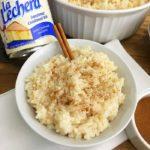 Holiday Rice Pudding Recipe @NestleLaLechera #unidosconlalechera #Ad