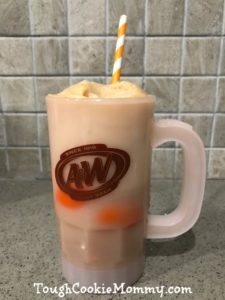 We Celebrated National Root Beer Float Day! #AWRootBeer #Ad