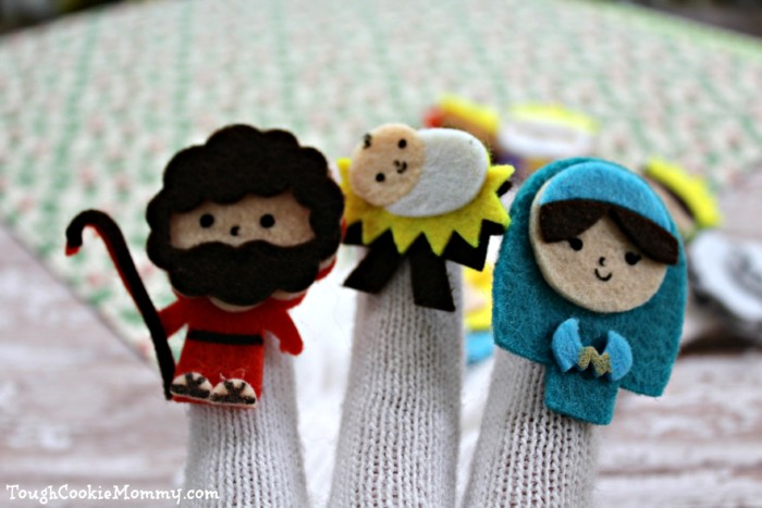 Nativity Puppets