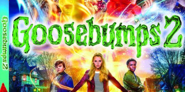 Enjoy A Spooky Family Movie Night With Goosebumps 2! #Goosebumps2 #Ad
