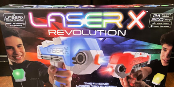 A Laser Tag Arena Right At Home With Laser X Revolution! #ad