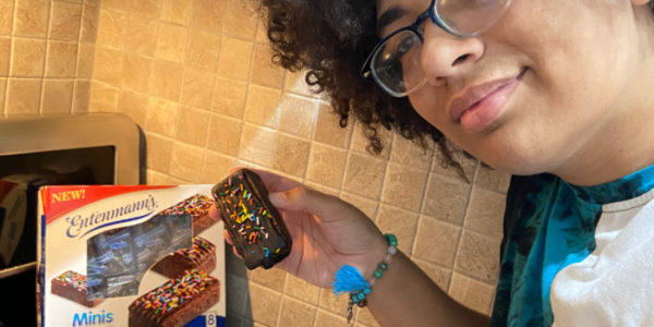 Introducing Entenmann's Minis Sprinkled Iced Brownies! #SprinklefestGiveaway #Entenmanns #ad